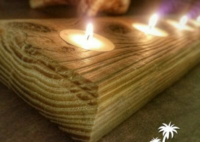 2x4 Candle Holder