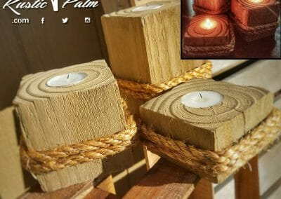 4x4 Candle Holders