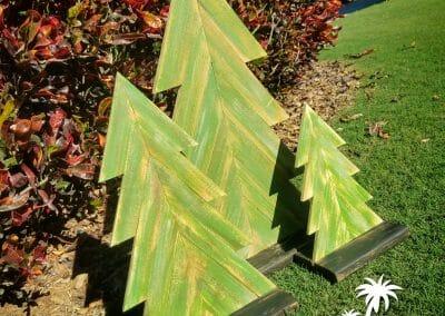 Christmas Trees 30 Deg Green