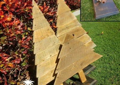 Christmas Trees Brown