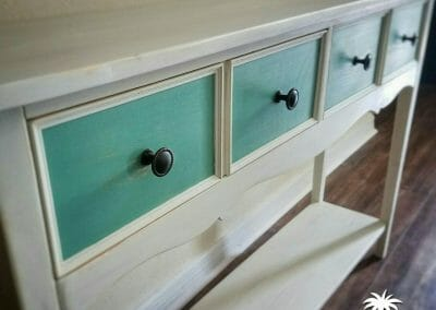 Entry Table Painted