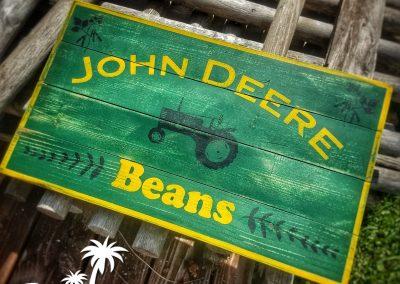 John Deer Beans Sign
