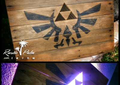 Lighted Zelda Pallet Flag