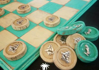 Pirates And Mermaids Checkers