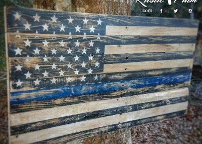 Thin Blue Flag